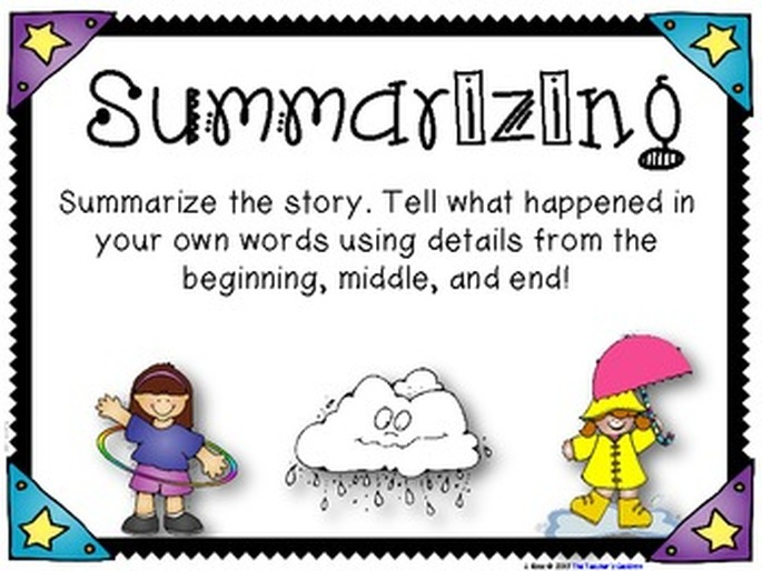 how do you summarize a story