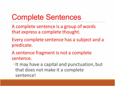 Types of Sentences - Mrs. Pape's 4th Grade Classroom